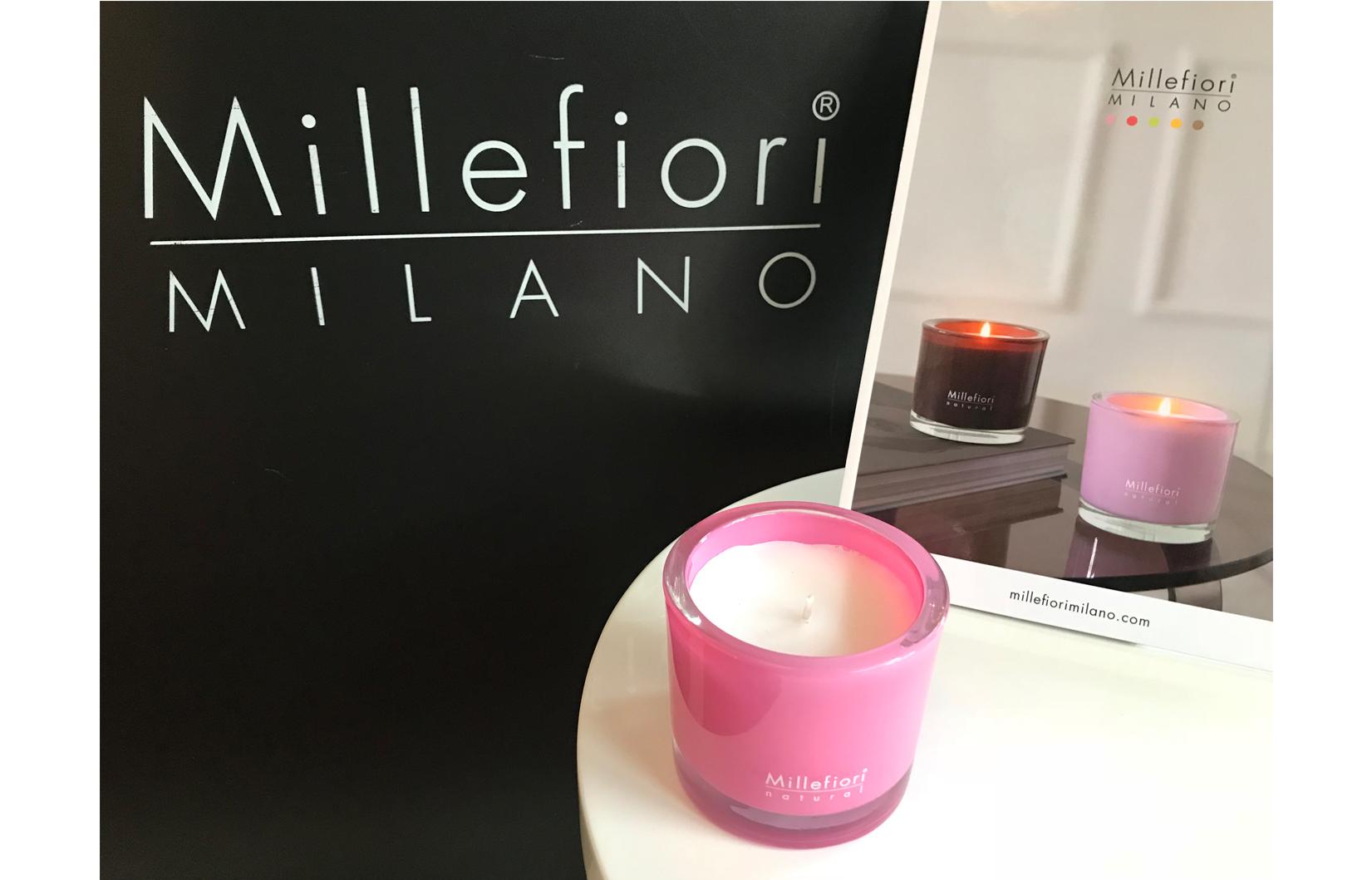 Millefiori candle BIG Jasmine Ylang