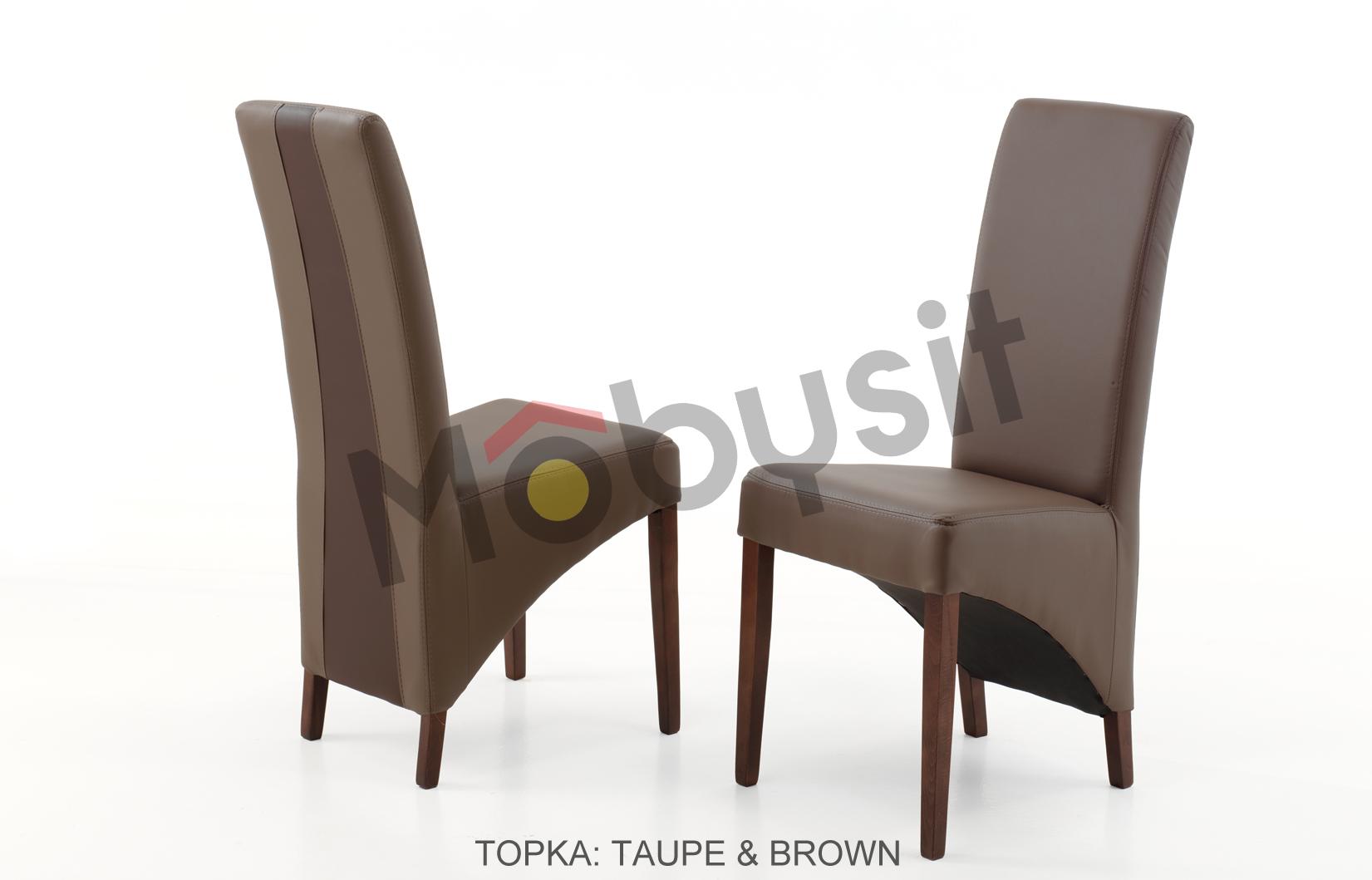 Topka BIG Taupe & Brown