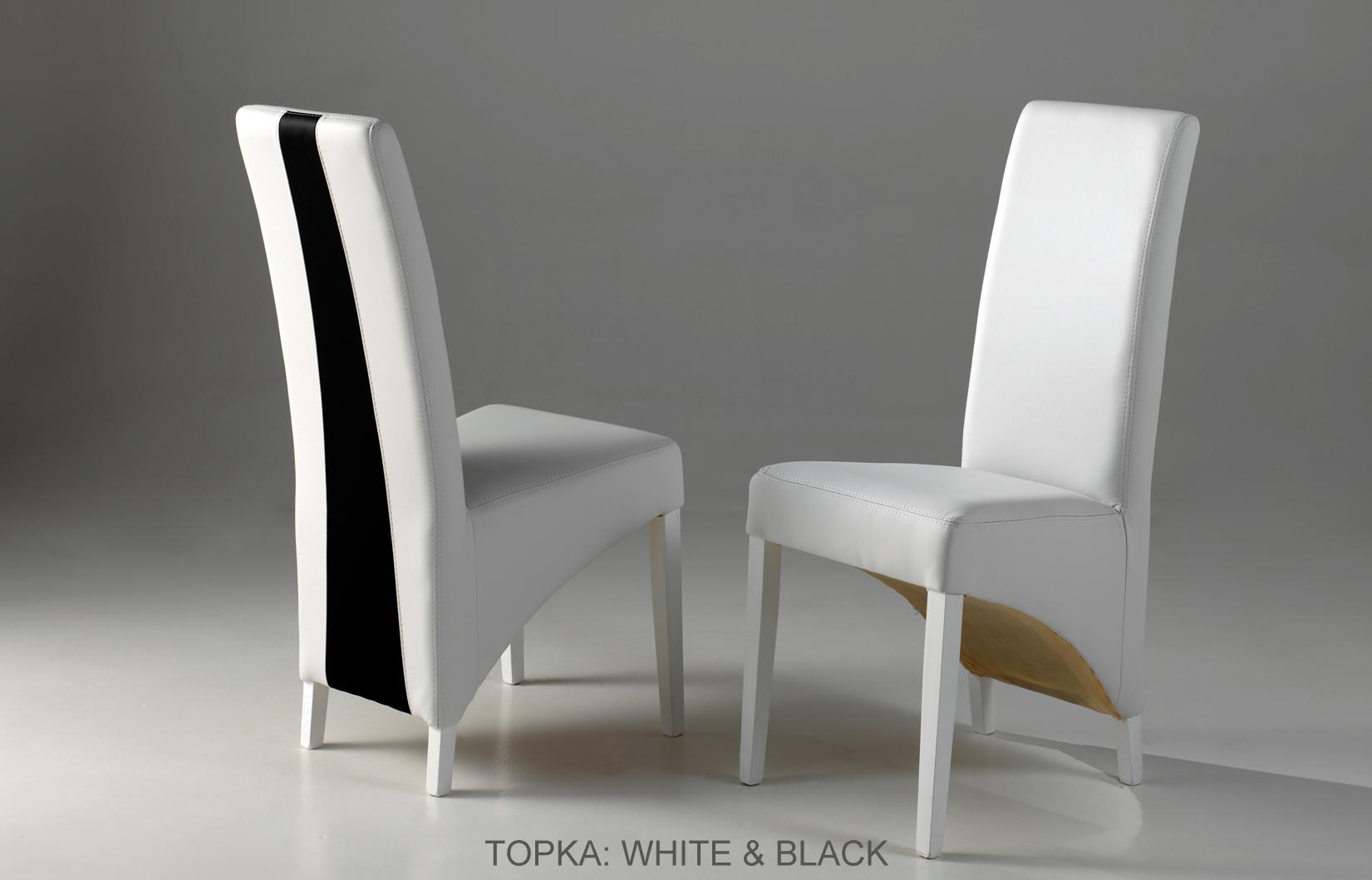 Topka BIG White & black