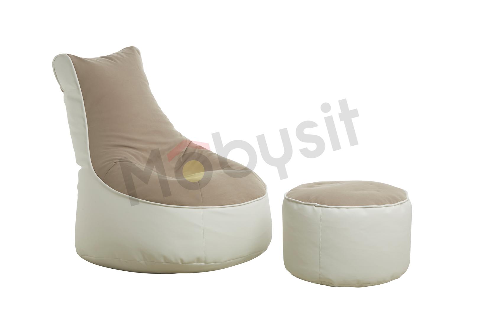 SAKWA BIG comfort beige-white