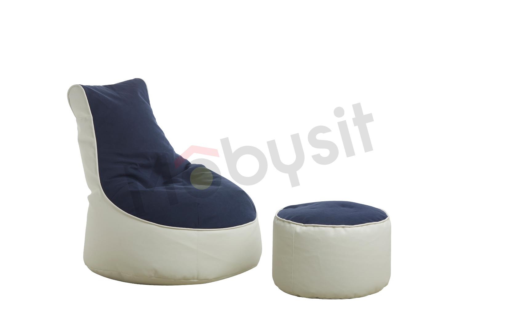 SAKWA BIG comfort bleu-white