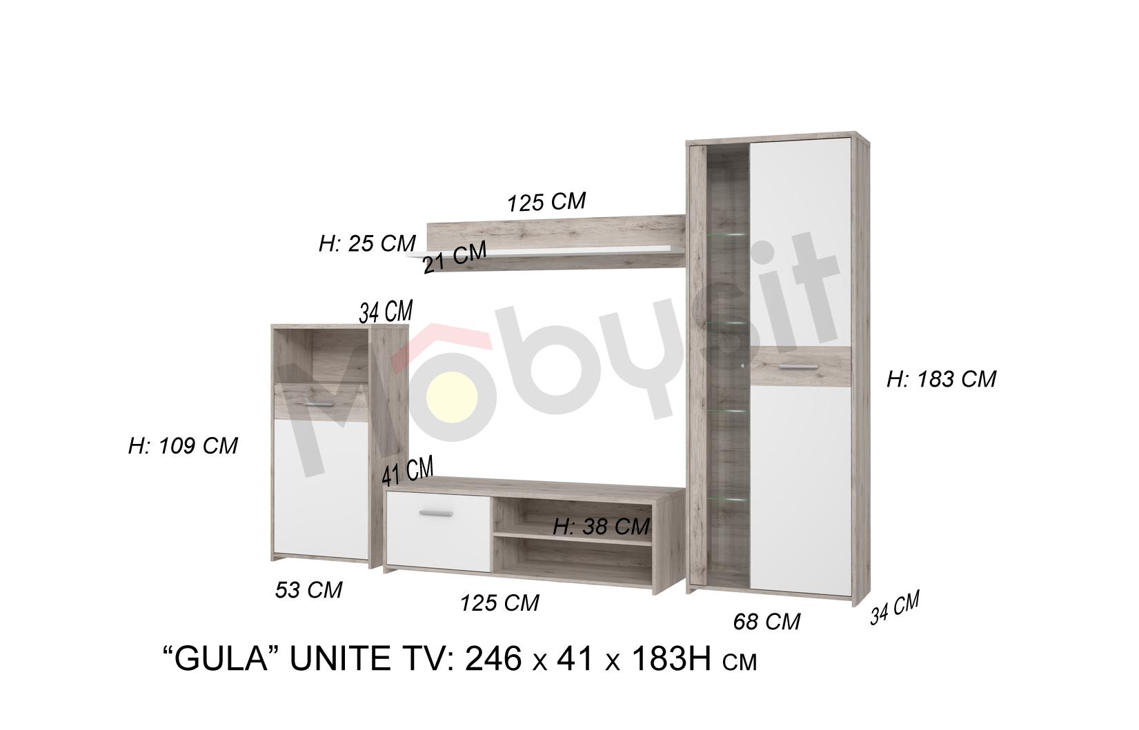 SITE BIG Gulada Tv set dimensions