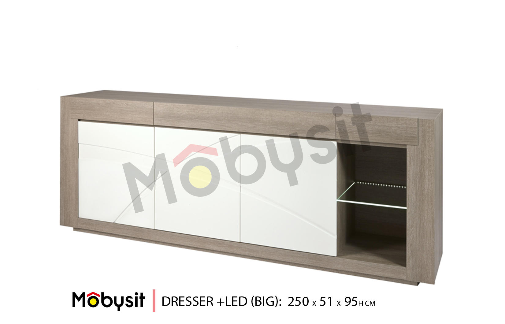 BIG Bauwens dressoir big 250