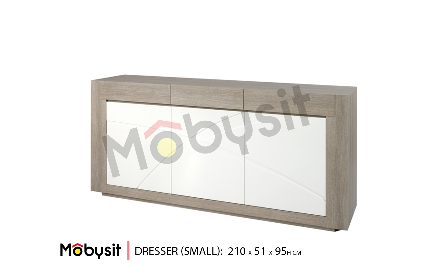 BIG Bauwens dressoir small 210